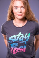 T-Shirt STAY POSI Girl